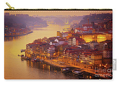 Pink Sunset In Porto Carry-all Pouch