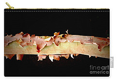 Pink Tree Bark Carry-all Pouch by Lexa Harpell