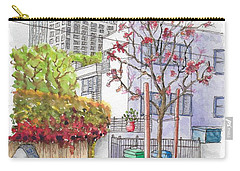 Pink Tree In Roxbury Park, Beverly Hills, California Carry-all Pouch