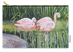 Pink Trio Carry-all Pouch