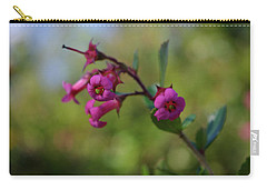 Pink Trumpets Carry-all Pouch