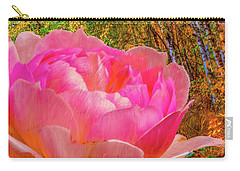 Pink Woods #e1 Carry-all Pouch by Leif Sohlman