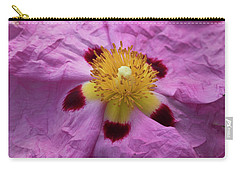 Pink Wrinkles Carry-all Pouch by Mitch Shindelbower