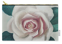 Pinky Flower Carry-all Pouch