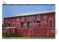 Carry-all Pouch featuring the digital art Pinnacle Ridge Winery by Sharon Batdorf