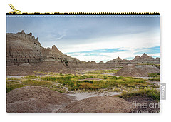 Pinnacles Of The Badlands Carry-all Pouch