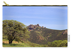 Carry-all Pouch featuring the photograph Pinnacles Vista by Art Block Collections