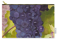 Pinot Noir Ready For Harvest Carry-all Pouch by Mike Robles