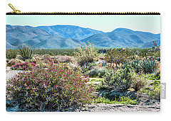 Pinyon Mtns Desert View Carry-all Pouch