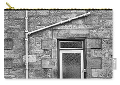 Carry-all Pouch featuring the photograph Pipes And Doorway by Christi Kraft
