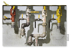Pipes And Valves Carry-all Pouch