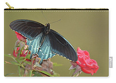 Pipevine Swallowtail Carry-all Pouch by Alan Lenk