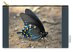 Pipevine Swallowtail Close-up Carry-all Pouch