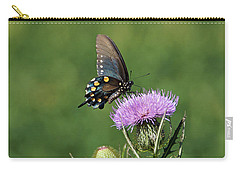 Carry-all Pouch featuring the photograph Pipevine Swallowtail by Sandy Keeton