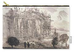 Piranesi Paraphrase No.43,veduta Della Faciata Della Basilica Di S. Giovanni Carry-all Pouch by Martin Stankewitz