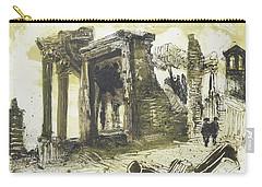 Piranesi Paraphrase No.49 Tempio Della Sibilla In Tivoli Carry-all Pouch by Martin Stankewitz