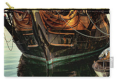 Pirate Ship Carry-all Pouch by Linda Olsen