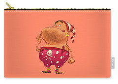Pirate Thug Carry-all Pouch by Andy Catling