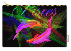 Pisces, By Sherr's Of Palm Springs Carry-all Pouch
