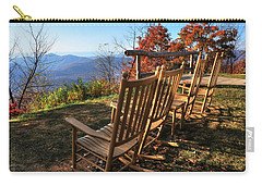 Pisgah Inn's Rocking Chairs Carry-all Pouch