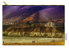 Pismo Beach Cove Carry-all Pouch by Joseph Hollingsworth