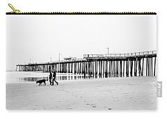 Pismo Beach Pier Carry-all Pouch by Ralph Vazquez