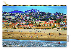 Carry-all Pouch featuring the photograph Pismo Hilltop Ocean View by Joseph Hollingsworth