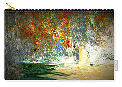 Pissarro's Garden Carry-all Pouch by Nature Macabre Photography