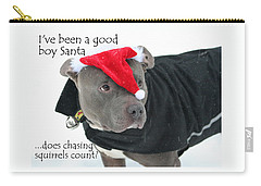 Pit Bull Christmas Two Carry-all Pouch