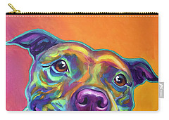 Pit Bull - Rainbow Carry-all Pouch