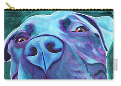 Pit Bull - Sky Blue Carry-all Pouch