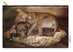 Pitbulls - The Softer Side Carry-all Pouch