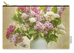 Pitcher Of Lilacs Carry-all Pouch