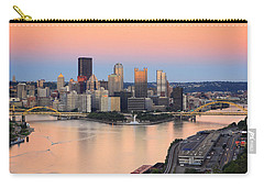 Pittsburgh 16 Carry-all Pouch by Emmanuel Panagiotakis