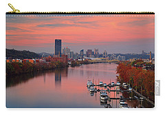 Carry-all Pouch featuring the photograph Pittsburgh 31st Street Bridge  by Emmanuel Panagiotakis