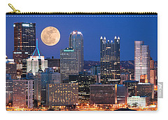 Pittsburgh 6 Carry-all Pouch by Emmanuel Panagiotakis