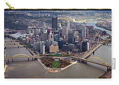 Pittsburgh 8 In Color  Carry-all Pouch