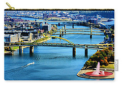 Pittsburgh At The Point Carry-all Pouch