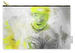 Pittsburgh Penguins Nhl Sidney Crosby Painting Fantasy Carry-all Pouch by David Haskett