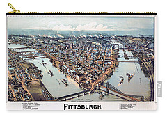 Pittsburgh Pennsylvania 1902 Carry-all Pouch