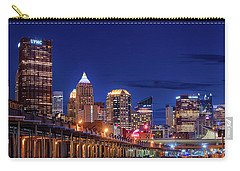 Carry-all Pouch featuring the photograph Pittsburgh Strip District 2 by Emmanuel Panagiotakis