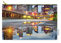 Carry-all Pouch featuring the photograph Pittsburgh Strip District by Emmanuel Panagiotakis