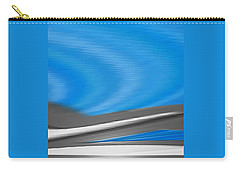 Carry-all Pouch featuring the digital art Pittura Digital by Sheila Mcdonald
