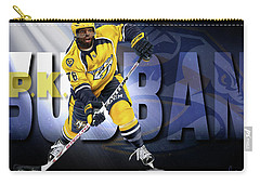 Carry-all Pouch featuring the photograph Pk Subban by Don Olea
