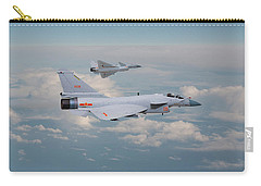 Carry-all Pouch featuring the photograph Plaaf J10 - Vigorous Dragon by Pat Speirs