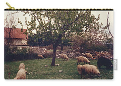 Place Of Peace And Love Carry-all Pouch by Christina Verdgeline