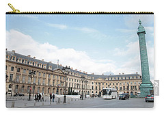 Place Vendome Carry-all Pouch by Christopher Kirby