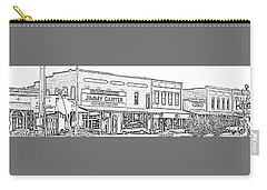 Plains Ga Downtown Carry-all Pouch