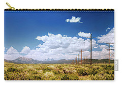 Plains Of The Sierras Carry-all Pouch
