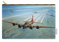 Carry-all Pouch featuring the photograph Plane by Test